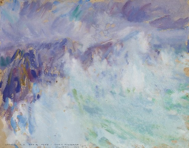 An image of Storm, Belle Ile