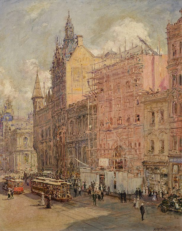 An image of Collins St, Melbourne