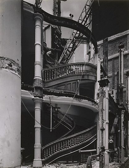 An image of Staircase in demolition of old CSR head office, Sydney