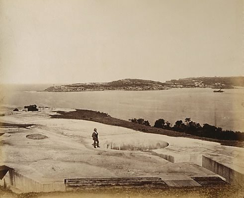 An image of Middle Head, Sydney by Charles Bayliss
