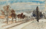 An image of Sketchbook no. 9: Sydney, Werri, Tasmania 1960s by Lloyd Rees