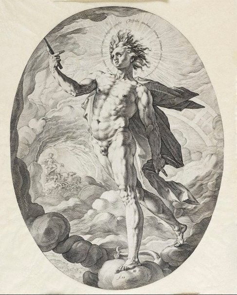 An image of Apollo by Hendrick Goltzius