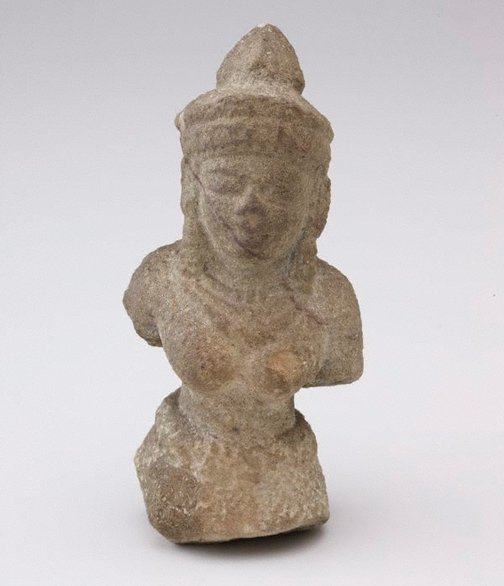 An image of Bodhisattva with jewellery and headdress by