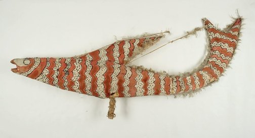 An image of Ceremonial decoration (fish) by