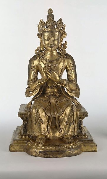 An image of Maitreya (Buddha of the future) by