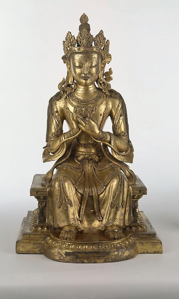 An image of Maitreya (Buddha of the future)