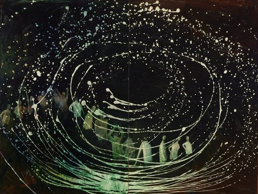 An image of The galaxy by Sidney Nolan