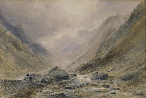 An image of A welsh river by Edward Tucker