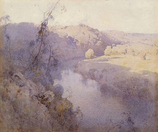 An image of The river by Penleigh Boyd