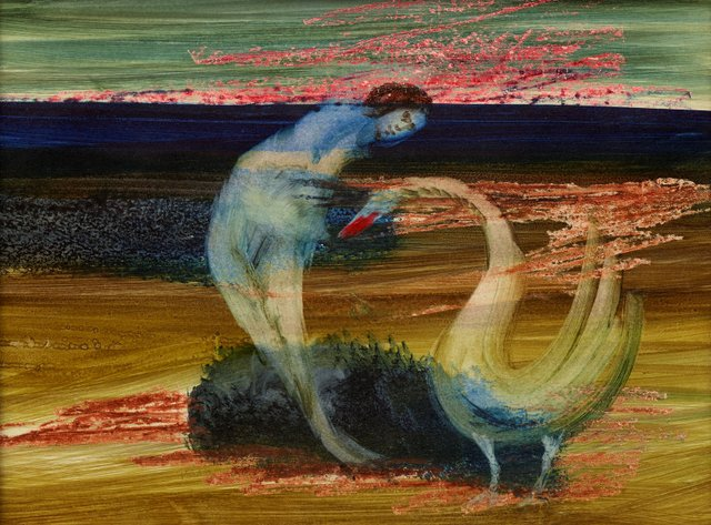 An image of Leda and the swan