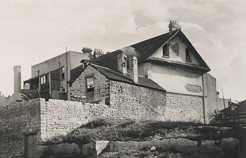 An image of Old Sydney (Millers Point) by Henri Mallard