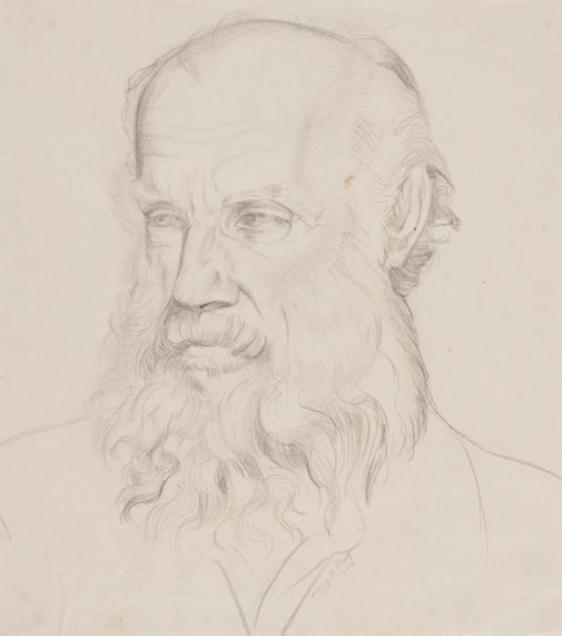 An image of Portrait study (Henry Gibbons) by Mary Abbott