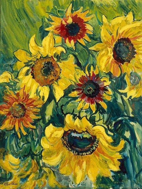 An image of Sunflowers by Sir Jacob Epstein