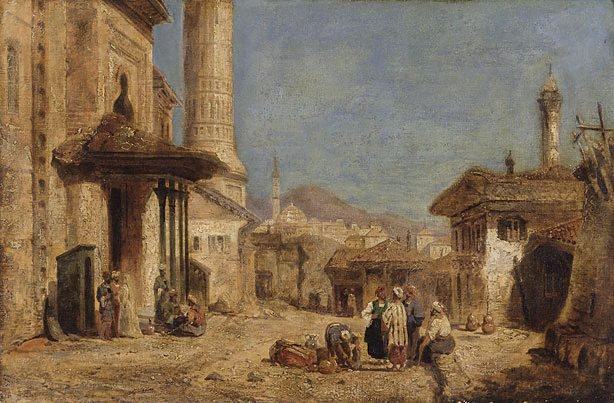 An image of A street scene, Cairo