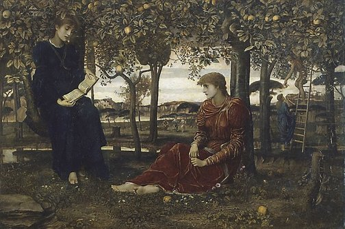 An image of A story book by John Melhuish Strudwick