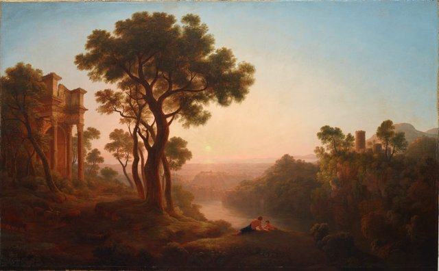 An image of Classical landscape