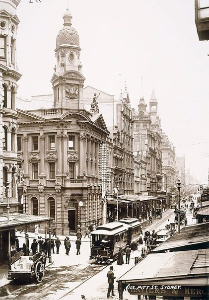 An image of Pitt Street, Sydney by Unknown, Kerry & Co