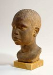 Alternate image of Head of an Aboriginal boy by Rayner Hoff