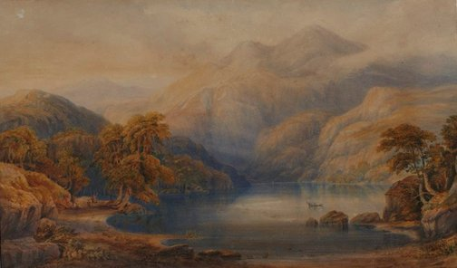 An image of Loch Katrine by SC Jones