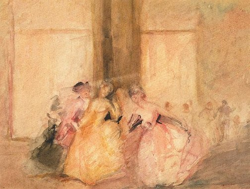 An image of (At the ball) by Florence Turner Blake
