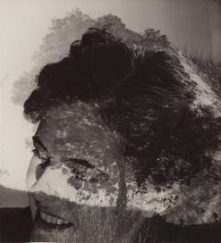 An image of Photo synthesis (woman & trees) by Max Dupain