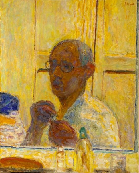An image of Self portrait by Pierre Bonnard