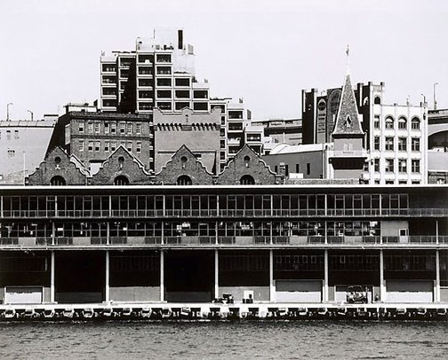 An image of Sydney Cove: The Rocks 1982 by Mark Johnson