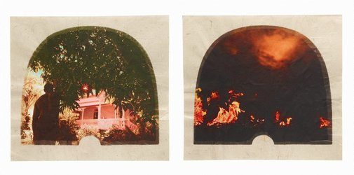 An image of Plantation (Diptych No. 12) by Tracey Moffatt