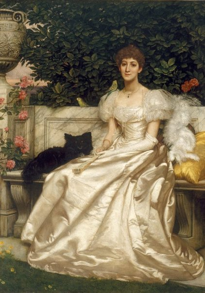 An image of The Hon. Violet Monckton by Sir Edward John Poynter