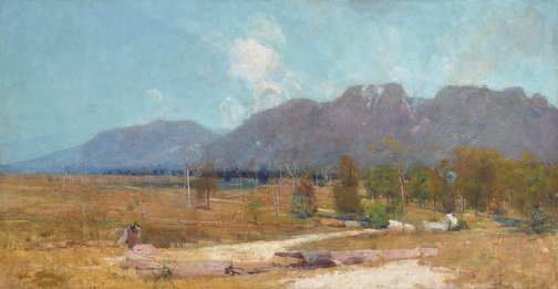 An image of The Gloucester Buckets by Arthur Streeton