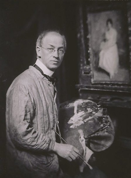 An image of Untitled (Portrait of Norman Carter, artist) by Harold Cazneaux