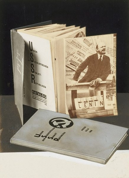 An image of Untitled (Pressa catalogue) by El Lissitzky