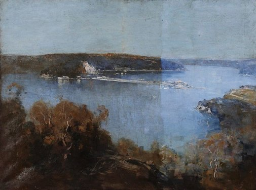 An image of Morning, Middle Harbour by Penleigh Boyd