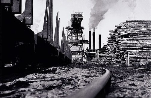 An image of Tasman Pulp and Paper Mill, New Zealand by David Moore
