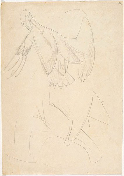An image of (Bird studies) (London genre) by William Dobell