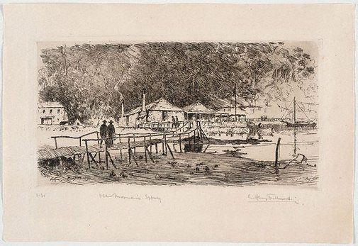 An image of Old Mosman's, Sydney by A Henry Fullwood
