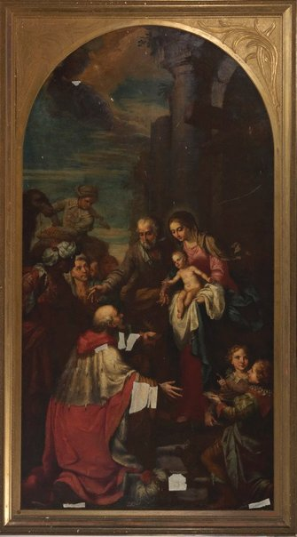 An image of Adoration of the Magi by Unknown, after Agostino d'Ugolini