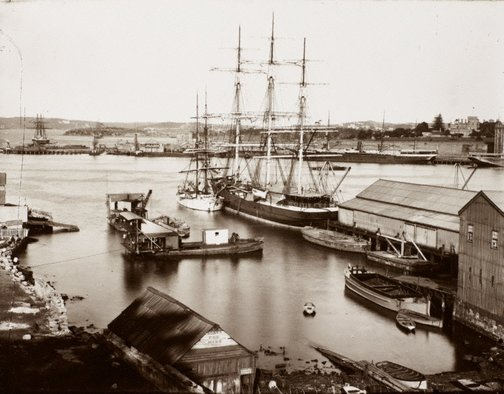 An image of Untitled (Sydney Cove) by Unknown, Kerry & Co