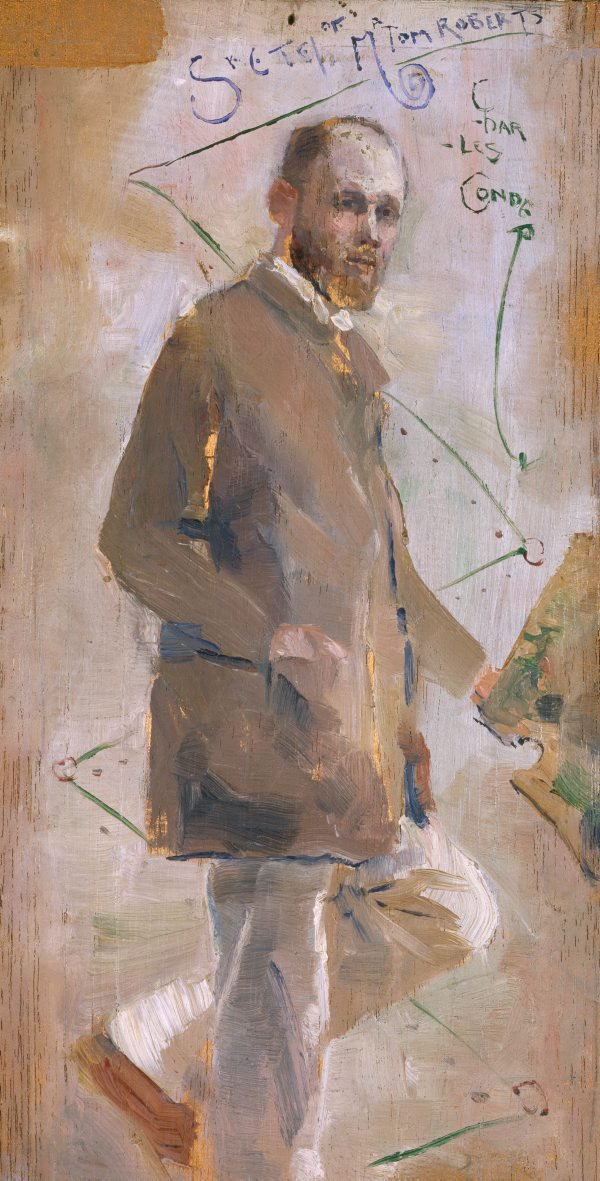 An image of An Impressionist (Tom Roberts)