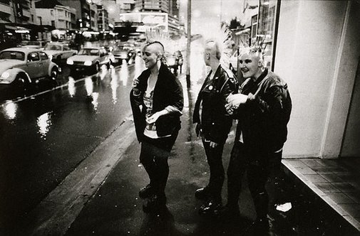 An image of Punk women, William Street Kings Cross by Robert McFarlane