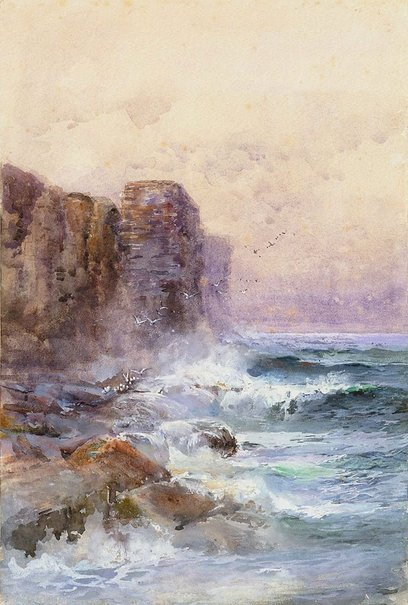 An image of Coast at Ben Buckler, Bondi, New South Wales by Donald Gregor Grant Commons