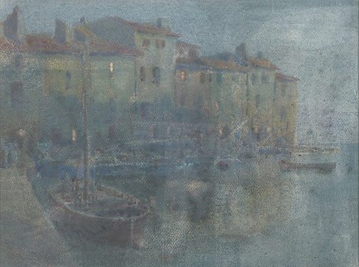An image of Martigues, evening by JH Young