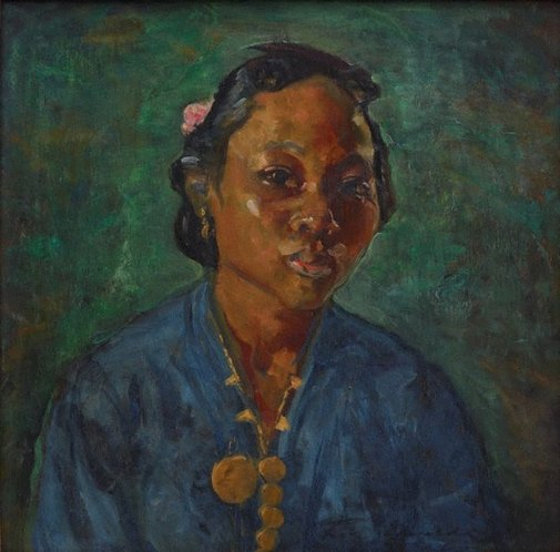 An image of Javanese woman by Mary Edwell-Burke