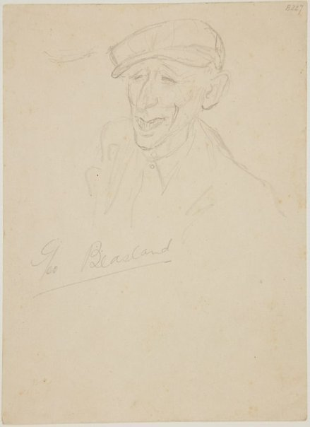 An image of George Blasland (London genre) by William Dobell
