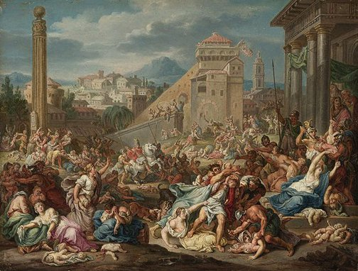 An image of Slaughter of the Innocents by after Bernard Picart