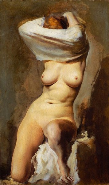 An image of Nude by Aleksandr Jacovleff