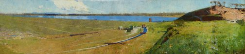 An image of Prospect reservoir by Arthur Streeton