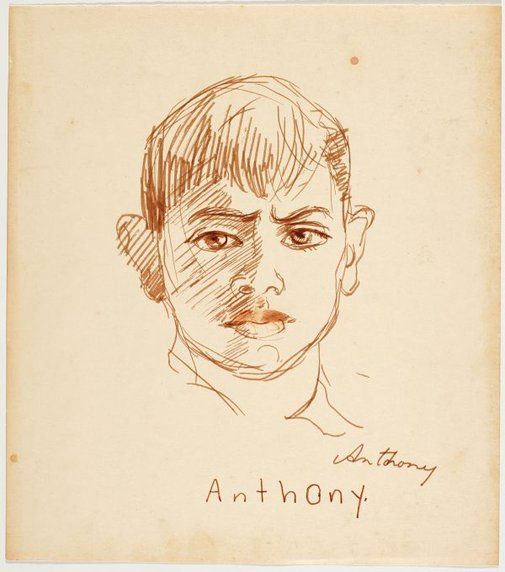 An image of Anthony by Nora Heysen