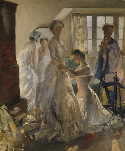 An image of Matinée rehearsal by Henry Tonks