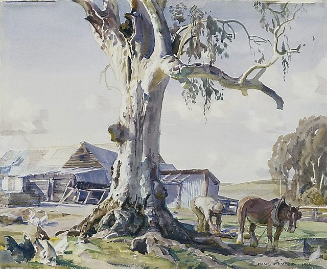 An image of The farmyard gum